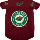 Minnesota Wild Pet Dog Hockey Jersey Medium