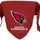 Arizona Cardinals Pet Dog Football Jersey Bandana M/L
