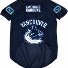 Vancouver Canucks Pet Dog Hockey Jersey Medium