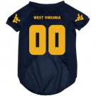 West Virginia University Mountaineers Pet Dog Football Jersey Medium