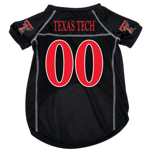 Texas Tech University Red Raiders Pet Dog Football Jersey Large