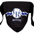 Colorado Rockies Pet Dog Baseball Jersey Bandana S/M