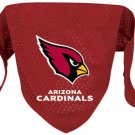 Arizona Cardinals Pet Dog Football Jersey Bandana S/M Cute