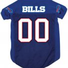 Buffalo Bills Pet Dog Football Jersey Medium