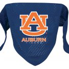 Auburn University Tigers Pet Dog Football Jersey Bandana M/L
