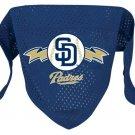 San Diego Padres Pet Dog Baseball Jersey Bandana M/L