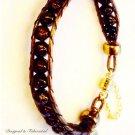 Bronze Leather Chan Luu style Bracelet $59