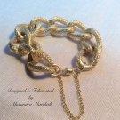 Non Tarnishing Goldtone Chunky Chain Link bracelet $39