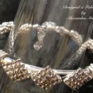 Shining Silver and Clear Crystal Bracelet $59