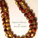 Elegant Yet Rustic Ethnic Tribal Layered Necklacewith Buddha Beads$299.