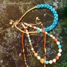 Set of Three Multi Gemstone Necklaces $139.