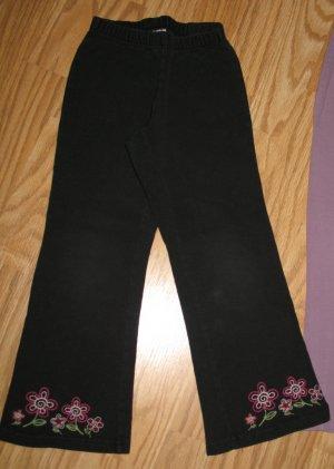 Old Navy black floral pants