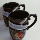 NEW Disney Parks Alice in Wonderland Triple Tea Cup Set MAD TEA PARTY -- 2 Cups