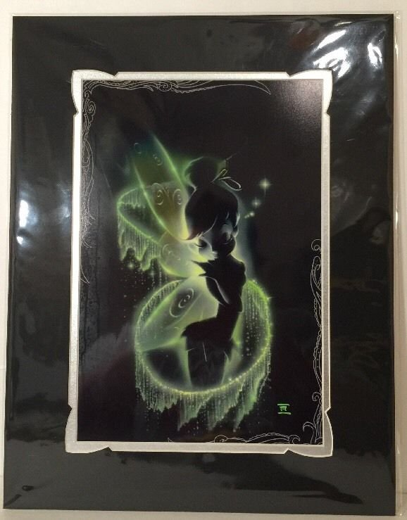 Disney WonderGround Gallery Faith Trust And Pixie Dust Print by Noah NEW