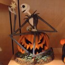 Disney Nightmare Before Christmas Jack Skellington Pumpkin Halloween Big FIgure
