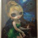 Disney WonderGround Tinker Bell at Skull Rock Postcard Jasmine Becket-Griffith