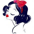 Disney WonderGround Gallery Snow White Print By Whitney Pollett NEW