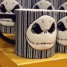 Disney NIGHTMARE BEFORE CHRISTMAS Jack Skellington Ceramic Mug / Cup (SET OF 2)