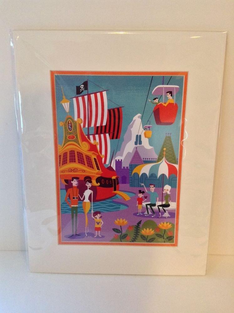 Disney WonderGround Gallery JOSH AGLE - Shag Morning in The Magic Kingdom Print