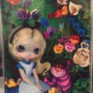 Disney WonderGround Gallery ALICE IN THE GARDEN Jasmine Becket-Griffith POSTCARD