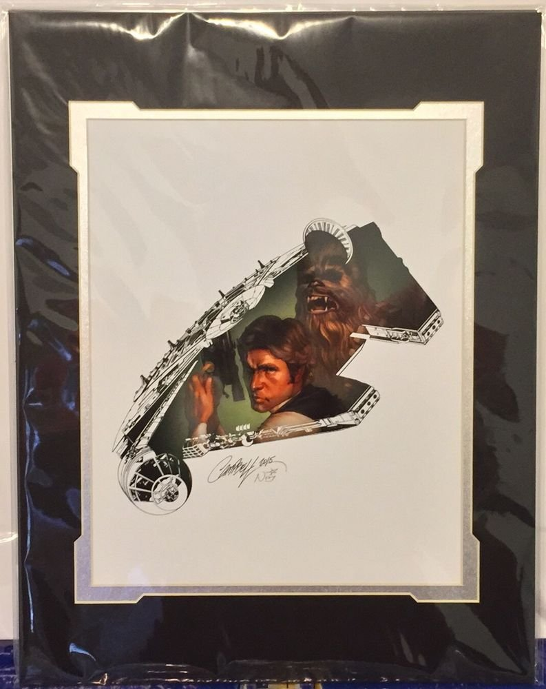 Disney WonderGround Gallery STAR WARS The Rebel Within Print J Scott Campbell