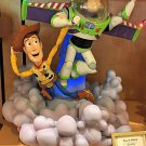 Disney Parks Buzz & Woody Light-Up Medium Figure by Ron Cohee NEW IN BOX
