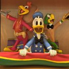 Disney Parks 3 Caballeros Medium Big Figure by Ron Cohee NEW IN BOX
