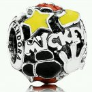 Disney Parks Pandora Mickey Mania Mickey Body Parts Silver Charm New w/ Box