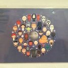 Disney WonderGround STAR WARS Galaxy of Cute Postcard by Jerrod Maruyama NEW