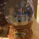 Disney Parks Exclusive 2015 Sleeping Beauty's Castle Musical Snow Globe NEW