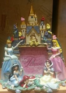 NEW Disney Disneyland Princess Castle Photo Picture Frame 3D Fully Sculpted