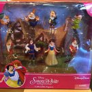 Disney Parks Snow White & The Seven Dwarfs Collectible Figure Figurines Play Set