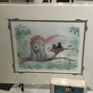 Disney WonderGround Gallery Dumbo in Lend an Ear Print by Sydney Hanson NEW
