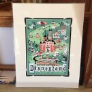 DISNEY D23 Expo 2015 Early Release ROAD TO DREAMS Print by Mike Peraza NEW
