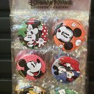 DISNEY PARKS MICKEY AND MINNIE MOUSE MAGNET SET 6PCS NEW