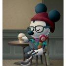 Disney WonderGround Gallery Cafe Hipster Mickey Postcard by Jerrod Maruyama NEW