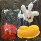 DISNEY PARKS MICKEY MOUSE BODY PARTS CLIP MAGNET SET NEW