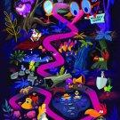 Disney WonderGround Gallery Alice in Wonderland LOST Postcard by Chris Lee