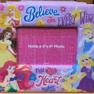 Disney Parks Believe in Every Wish that Your Heart Makes Photo Picture Frame 4x6