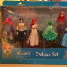 DISNEY PARKS DISNEY PRINCESS ARIEL LITTLE MERMAID FIGURINES DELUXE PLAYLET NEW