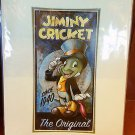 "Disney Parks Jiminy Cricket ""Jiminy The Original"" Print by Darren Wilson NEW"