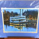 Disneyland Twilight on the Mark Twain print by George Scribner New
