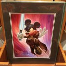 Disney Parks Star Wars Mickey as Wan Kenobi Deluxe Print by Greg McCullough NEW