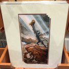 "Disney Parks The Lion King ""A King is Born"" Deluxe Print by Darren Wilson NEW"