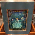"Disney Parks Cinderella in ""Faith in Miracles"" Deluxe Print by John Coulter NEW"