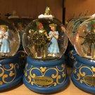 Disney Parks PETER PAN'S FLIGHT Musical Snow Globe Peter Pan Tinkerbell Wendy