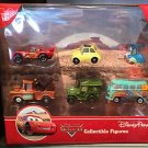 Disney Parks DCA Collectible Figures Pixar Cars McQueen Play Set New In Box