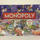 Disney Parks Theme Park Edition III Monopoly Game with Pop-Up Castle New In Box