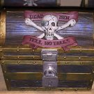 disney parks pirates of the caribbean treasure chest with 16 coasters new w tags
