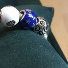 Disney Parks Pandora 2015 Edition Mickey Blue Bead Disneyland Charm New in Box